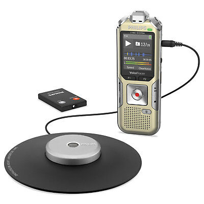Philips Voice Tracer 8010 Digital Recorder 8 GB Gold/Silver DVT8010