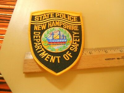 New Hampshire Police Iron on  Patch