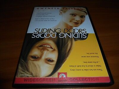 Sliding Doors (DVD, 1998, Widescreen) Gwyneth Paltrow Used