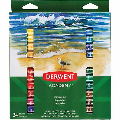 """Mead Watercolors 12 mL Tubes 8""""Wx9/10""""Lx10-3/5""""H 24/ST AST 98222"""