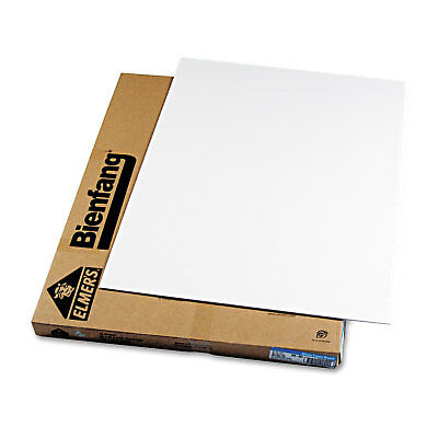 Elmer's Polystyrene Foam Board, 30 x 40, White Surface and Core, 10/Carton