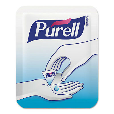 PURELL Advanced Hand Sanitizer Single Use, 1.2 mL, Packet, Clear, 2000/CT 96202M