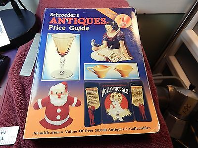 '95 Schroeders Antiques Price Guide 602 Page 13th Edition Best Seller