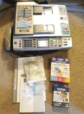 BROTHER Facsimile Transreceiver MFC-665CW Fax, Scan, Copy & Photo Capture