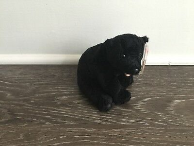 Ty Beanie Babies Cinders the Black Bear (MWMT)