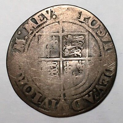 Great Britain Silver Shilling Hammered Coinage (Elizabeth I) 1558 to 1603