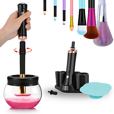 Electric Makeup Cosmetic Brushes Cleaner And Dryer Brush Washing Machine Tool