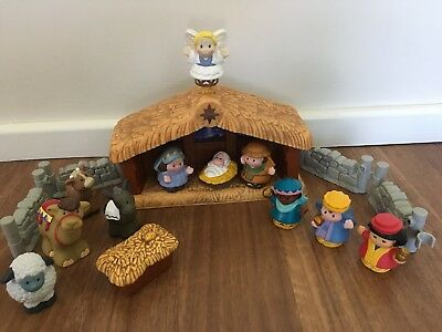 Fisher Price Little People Deluxe Christmas Nativity Set
