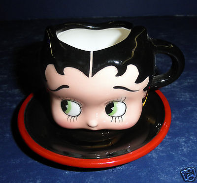 Vandor Betty Boop Small Cup & Saucer- New in Box- #10121
