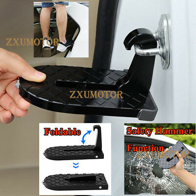 """Car Door Latch Hook Step Folding Foot Pedal Ladder for Jeep SUV Truck Roof 6.1"""""""
