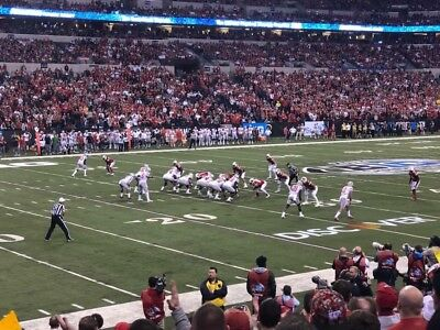 6 Tickets 2018 Big Ten Football Championship Game! 13 Rows From The Field!