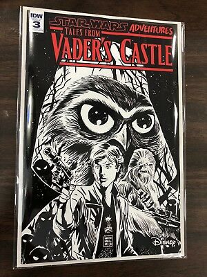 Star Wars Adventures: Tales From Vader's Castle #3 Black and White Variant