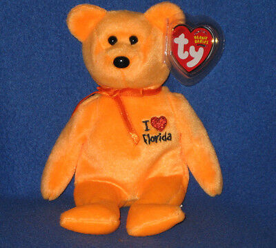 8f465e33690 TY I LOVE HAWAII BEANIE BABY - STATE EXCLUSIVE - MINT with MINT TAGS ...