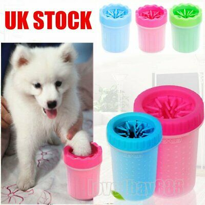 Pet Paw Plunger Mud Cleaner Washer Dog Cat Attractive Pet Paw Portable New