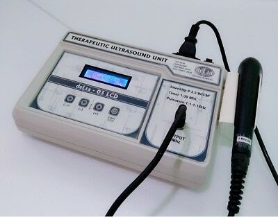 New Original Ultrasound Ultrasonic therapy machine for Pain relief 3 MHz Unit