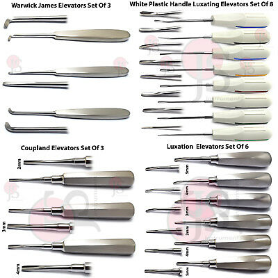 Dental Tooth Extraction Surgical Luxation Instruments Root Elevators Periotome