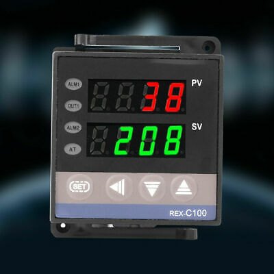 100-240V REX-C100 Digital PID Temperature Controller RELAY & SSR Thermostat