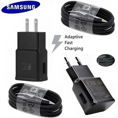 NEW Original Samsung Adaptive Fast Wall Charger For Galaxy S8 S9 Plus Note 8 A8