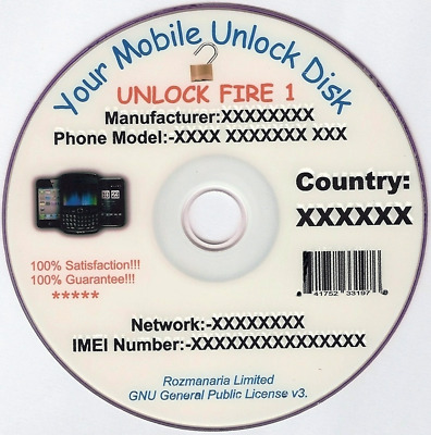 Phone Unlock/Unlocking Software CD/DVD x2 24GB+
