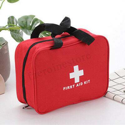 Large First Aid Kit Bag Medical Emergency Kit Travel Home Car Taxi Outdoor Box