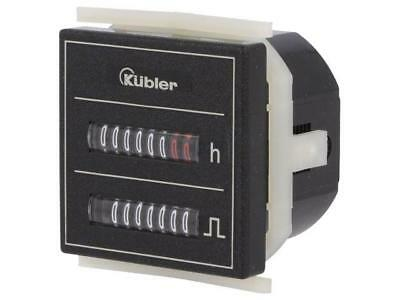 3.550.401.351 Counter electromechanical Display mechanical indicator  KUBLER