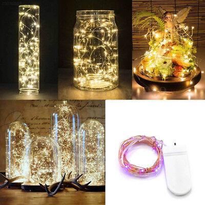 Copper Wire Wine Bottle Cork Battery Operated Fairy String Lights 10/20/30LED