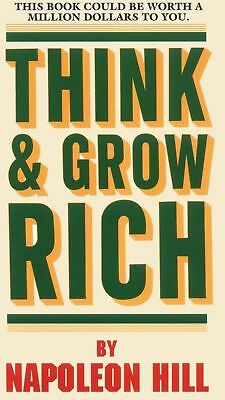 PDF Think and Grow Rich by Napoleon Hill, digital format PDF