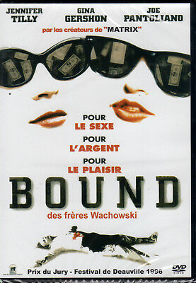 DVD - BOUND - Jennifer Tilly - Gina Gershon - Joe Pantoliano - Wachowski - NEUF