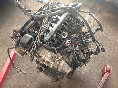 BMW E46 320D 2 0 Diesel Engine M47T With Injectors/ Fuel Pump Fuel Rail  150Bhp