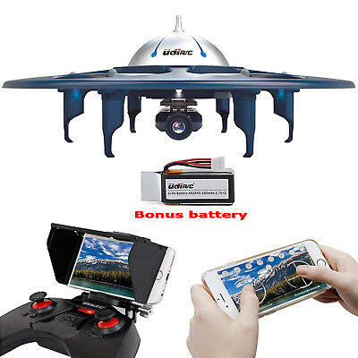 Drone WiFi FPV 720P HD Camera Quadcopter RC Live Video free Batteries Bladers