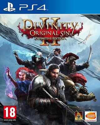 Divinity Original Sin 2 - Definitive Edition (PS4)  BRAND NEW AND SEALED