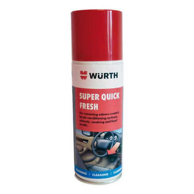 Wurth Super Quick Fresh Air-Con & Interior Deodoriser - Choice of Scents