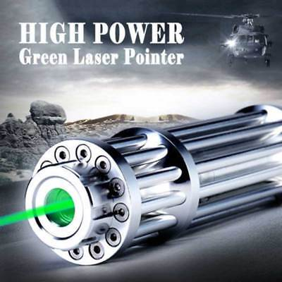 High Power Military Laser Pointer Pen Green 1mW 532nm Military Burning Beam US