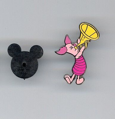 Disney Disneyland Winnie the Pooh Band Series Piglet with Horn Pin
