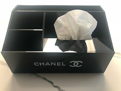 Rare Chanel Makeup  Organizer / Tissue Holder