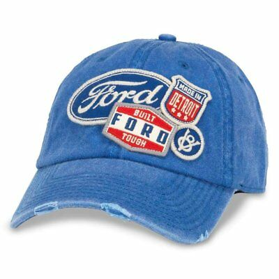 0e941067273 AMERICAN NEEDLE FORD Iconic Distressed Slouch Adjustable Hat ...