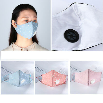 Health Care Washable Mouth Respirator Half Face Anti-Dust PM2.5 Mouth Mask
