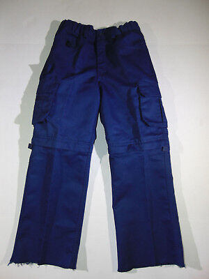 Boy Scouts of America Switchback Uniform Convertible Navy Blue Pants Sz Youth 8