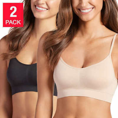 Jockey Ladies' 2-Pack Seamless Bralettes - Size: Varies