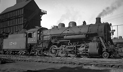 Illinois Central Locomotive #1789 - Original B&W Negative