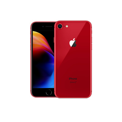 Apple iPhone 8 - 64GB - Red - (Factory GSM Unlocked; AT&T T-Mobile) Smartphone