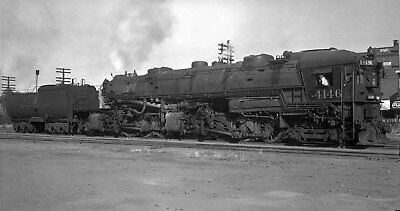 Southern Pacific Locomotive #4146 - Original B&W Negative