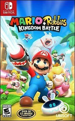Mario + Rabbids Kingdom Battle for Nintendo Switch NS and -  NEW FACTORY SEALED