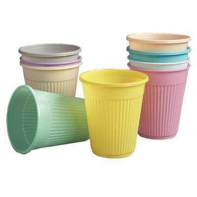 2000-5000 COLOR Optional Disposable Dental Plastic Drinking Cups Top Quality 5oz