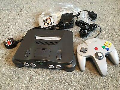 House Clearance Attic Find Classic Retro Toy     Nintendo 64 Games console Derby
