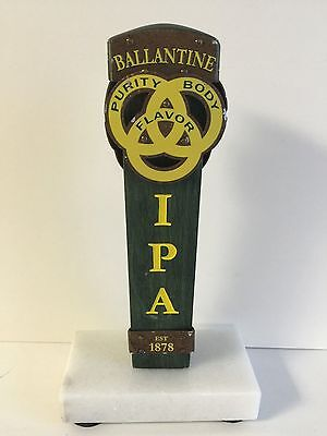 "Ballantine IPA India Pale ALE Tap Handle 6.5"" Short Used Condition / Free Shipn."