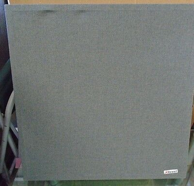 2 x Rexel ActiVita 600 x 600 mm Wall Mounted Noise Reducing Panels - Grey