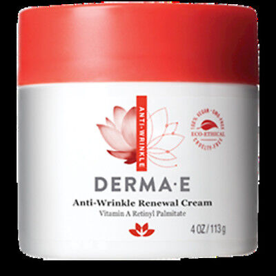 Derma E - Anti Wrinkle Vitamin A Retinyl Cream 4 Oz Jar 480 FREE 3 DAY SHIP