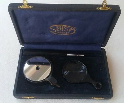 Ottico strumento lente optometrista optical instrument Vintage 50s made Italy
