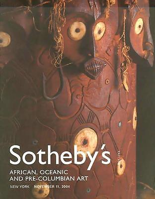 Sotheby's ///  African Tribal Art Post Auction Catalog 2004